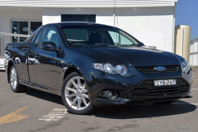Used Ford Falcon FG MkII XR6 Ute Super Cab EcoLPi, 2014 Ford Falcon FG MkII XR6 Ute Super Cab EcoLPi Black 6 Speed Sports Automatic Utility