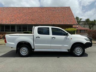 2015 Toyota Hilux KUN26R SR White 5 Speed Automatic Dual Cab.