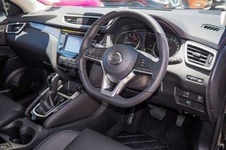 2019 Nissan Qashqai J11 Series 2 ST-L X-tronic Pearl Black 1 Speed Constant Variable Wagon