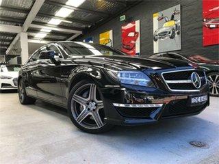 2011 Mercedes-Benz CLS63 C218 AMG Black Sports Automatic Sedan.