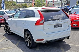 2014 Volvo XC60 DZ MY14 T6 Geartronic AWD R-Design White 6 Speed Sports Automatic Wagon.