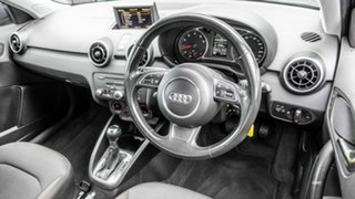 2012 Audi A1 8X MY12 Sport Sportback S Tronic Blue 7 Speed Sports Automatic Dual Clutch Hatchback