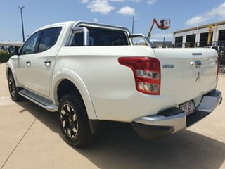 2018 Mitsubishi Triton MQ MY18 Exceed Double Cab White 5 Speed Sports Automatic Utility