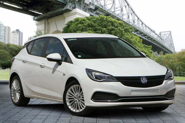 Used Holden Astra BK MY17 R+, 2016 Holden Astra BK MY17 R+ White 6 Speed Sports Automatic Hatchback