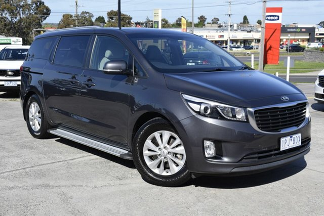 Used Kia Carnival YP MY16 SI, 2016 Kia Carnival YP MY16 SI Grey 6 Speed Sports Automatic Wagon