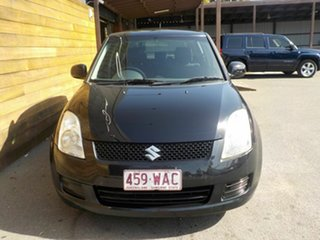 2008 Suzuki Swift RS415 GLX Black 4 Speed Automatic Hatchback.