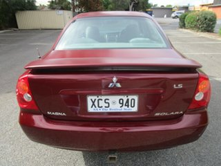 2004 Mitsubishi Magna TL Solara 4 Speed Auto Sports Mode Sedan
