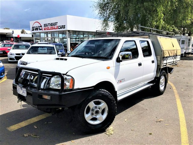 Used Nissan Navara D22 S5 MY12 ST-R Special Edition, 2012 Nissan Navara D22 S5 MY12 ST-R Special Edition White 5 Speed Manual Utility