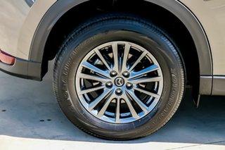 2018 Mazda CX-5 KF4WLA Maxx SKYACTIV-Drive i-ACTIV AWD Sport Machine Grey 6 Speed Sports Automatic