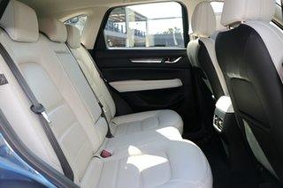 2018 Mazda CX-5 KF4WLA GT SKYACTIV-Drive i-ACTIV AWD Eternal Blue 6 Speed Sports Automatic Wagon