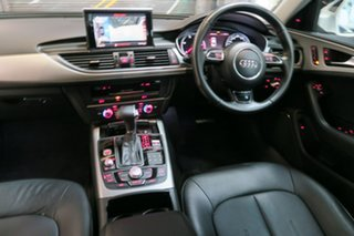 2014 Audi A6 4G MY14 Multitronic White 1 Speed Constant Variable Sedan.