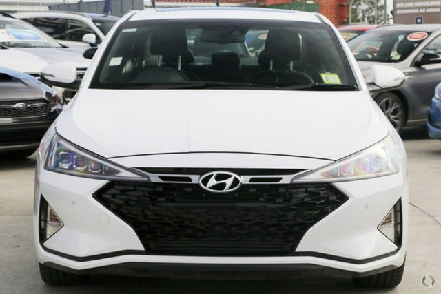 New Hyundai Elantra AD.2 MY20 Sport DCT Premium, 2019 Hyundai Elantra AD.2 MY20 Sport DCT Premium Polar White 7 Speed Sports Automatic Dual Clutch