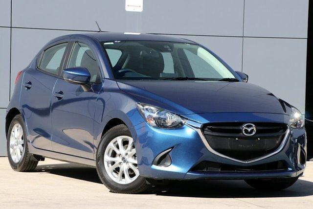 Used Mazda 2 DJ2HAA Maxx SKYACTIV-Drive, 2018 Mazda 2 DJ2HAA Maxx SKYACTIV-Drive Eternal Blue 6 Speed Sports Automatic Hatchback