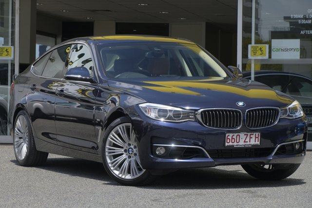 Used BMW 3 Series F34 320i Gran Turismo Luxury Line, 2016 BMW 3 Series F34 320i Gran Turismo Luxury Line Midnight Blue 8 Speed Sports Automatic Hatchback