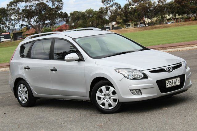 Used Hyundai i30 FD MY11 SX cw Wagon, 2012 Hyundai i30 FD MY11 SX cw Wagon Silver 4 Speed Automatic Wagon