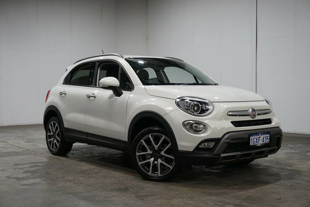 Used Fiat 500X 334 Cross Plus AWD, 2016 Fiat 500X 334 Cross Plus AWD White 9 Speed Sports Automatic Wagon