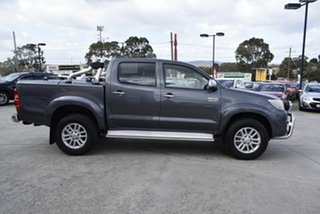 2013 Toyota Hilux KUN26R MY12 SR5 Double Cab Grey 4 Speed Automatic Utility