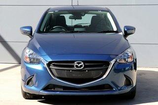 2018 Mazda 2 DJ2HAA Maxx SKYACTIV-Drive Eternal Blue 6 Speed Sports Automatic Hatchback
