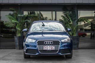 2012 Audi A1 8X MY12 Sport Sportback S Tronic Blue 7 Speed Sports Automatic Dual Clutch Hatchback.