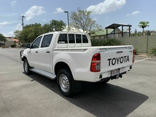 2015 Toyota Hilux KUN26R SR White 5 Speed Automatic Dual Cab