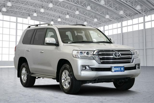 Used Toyota Landcruiser VDJ200R GXL, 2018 Toyota Landcruiser VDJ200R GXL Silver 6 Speed Sports Automatic Wagon