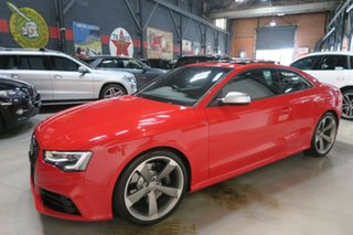 2012 Audi RS5 8T MY13 S Tronic Quattro Red 7 Speed Sports Automatic Dual Clutch Coupe
