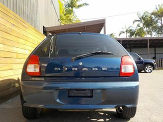 2003 Mitsubishi Mirage CE MY2002 Blue 5 Speed Manual Hatchback