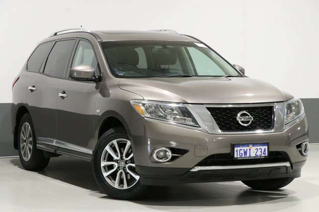 Used Nissan Pathfinder R52 ST-L (4x2), 2013 Nissan Pathfinder R52 ST-L (4x2) Bronze Continuous Variable Wagon