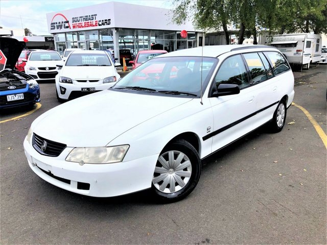 Used Holden Commodore VY Executive, 2003 Holden Commodore VY Executive White 4 Speed Automatic Wagon