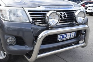 2013 Toyota Hilux KUN26R MY12 SR5 Double Cab Grey 4 Speed Automatic Utility.