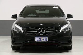 2016 Mercedes-Benz A250 176 MY16 Sport Black 7 Speed Automatic Hatchback.