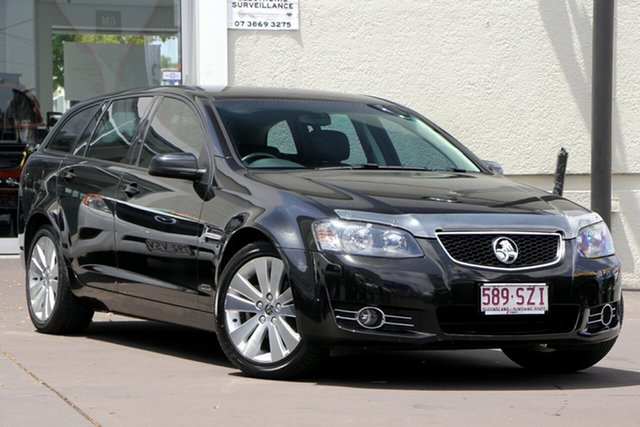 Used Holden Commodore VE II MY12.5 Omega Sportwagon, 2013 Holden Commodore VE II MY12.5 Omega Sportwagon Black 6 Speed Sports Automatic Wagon
