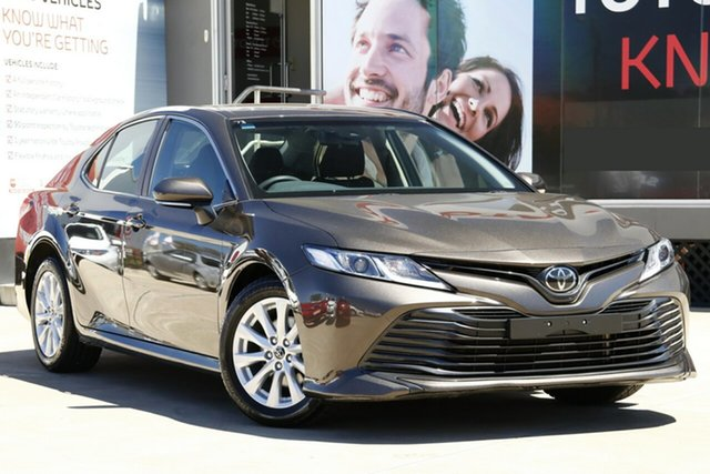 Used Toyota Camry ASV70R Ascent, 2018 Toyota Camry ASV70R Ascent Blacksmith Bronze 6 Speed Sports Automatic Sedan