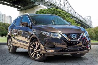 2019 Nissan Qashqai J11 Series 2 ST-L X-tronic Pearl Black 1 Speed Constant Variable Wagon.