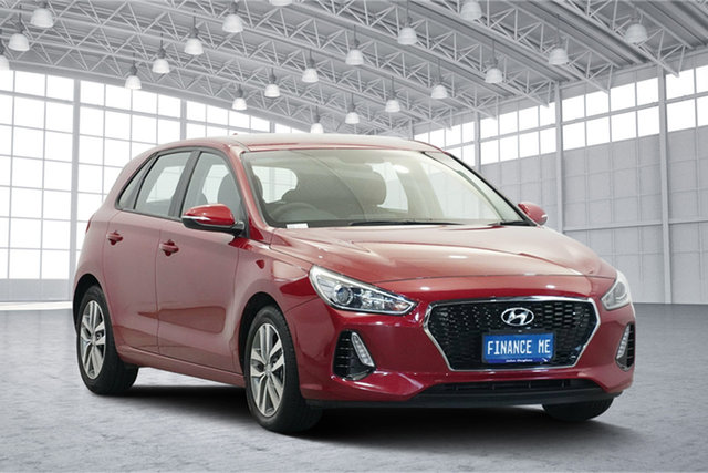 Used Hyundai i30 PD2 MY19 Active, 2019 Hyundai i30 PD2 MY19 Active Firey Red 6 Speed Sports Automatic Hatchback