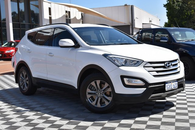 Used Hyundai Santa Fe DM MY13 Active, 2013 Hyundai Santa Fe DM MY13 Active White 6 Speed Sports Automatic Wagon