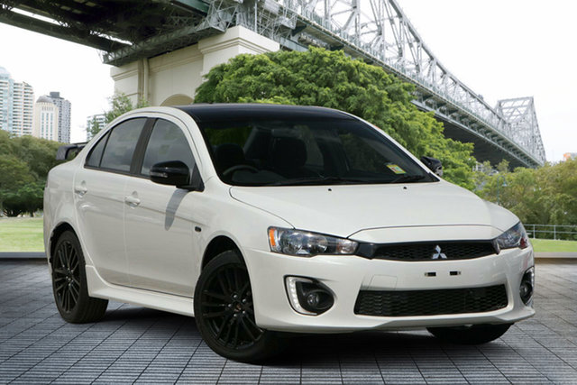 Used Mitsubishi Lancer CF MY17 Black Edition, 2017 Mitsubishi Lancer CF MY17 Black Edition White 6 Speed Constant Variable Sedan