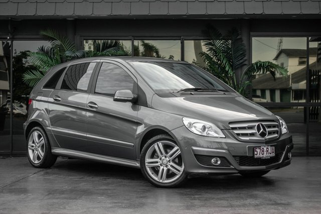 Used Mercedes-Benz B-Class W245 MY11 B180, 2010 Mercedes-Benz B-Class W245 MY11 B180 Grey 1 Speed Constant Variable Hatchback