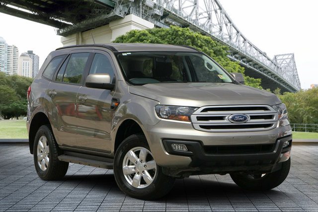 Used Ford Everest UA 2018.00MY Ambiente 4WD, 2017 Ford Everest UA 2018.00MY Ambiente 4WD Gold 6 Speed Sports Automatic Wagon