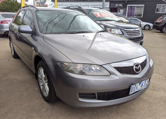 Used Mazda 6 GY1032 Classic, 2006 Mazda 6 GY1032 Classic Grey 5 Speed Automatic Wagon