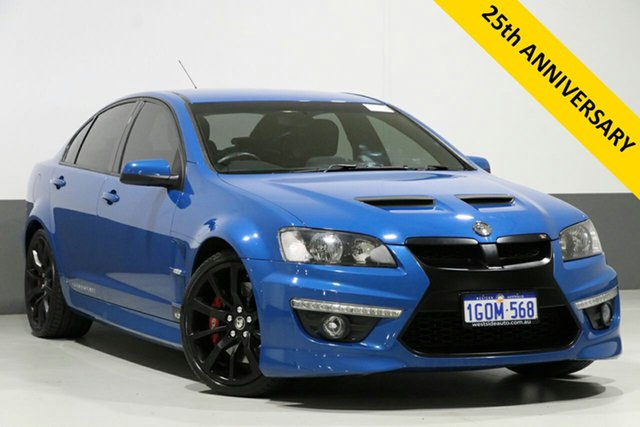 Used Holden Special Vehicles ClubSport E3 MY12 R8, 2012 Holden Special Vehicles ClubSport E3 MY12 R8 Blue 6 Speed Auto Active Sequential Sedan