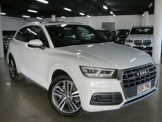 2018 Audi Q5 FY MY18 TDI S Tronic Quattro Ultra Sport White 7 Speed Sports Automatic Dual Clutch.