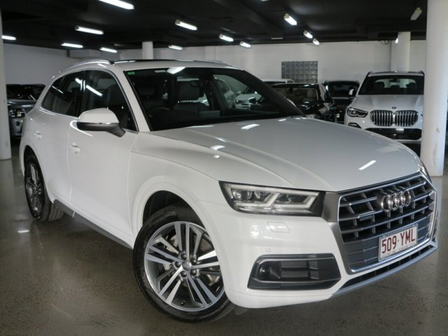 Used Audi Q5 FY MY18 TDI S Tronic Quattro Ultra Sport, 2018 Audi Q5 FY MY18 TDI S Tronic Quattro Ultra Sport White 7 Speed Sports Automatic Dual Clutch