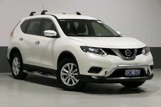 Used Nissan X-Trail T32 ST (4x4), 2015 Nissan X-Trail T32 ST (4x4) Pearl White Continuous Variable Wagon