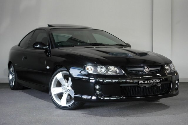 Used Holden Monaro VZ CV8 Z, 2005 Holden Monaro VZ CV8 Z Black 4 Speed Automatic Coupe