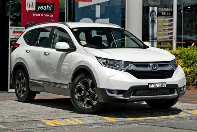 Demo Honda CR-V RW MY19 VTi-S FWD, 2019 Honda CR-V RW MY19 VTi-S FWD White Orchid 1 Speed Constant Variable Wagon