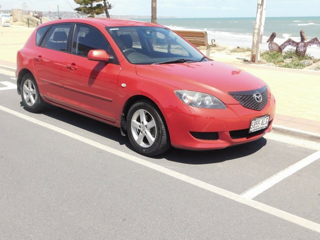 Used Mazda 3 BK1031 SP23, 2005 Mazda 3 BK1031 SP23 Red 5 Speed Manual Hatchback