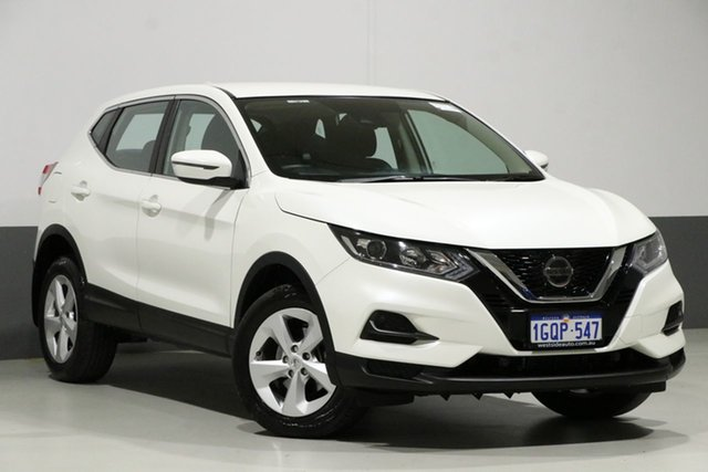 Used Nissan Qashqai J11 MY18 ST, 2018 Nissan Qashqai J11 MY18 ST Pearl White Continuous Variable Wagon