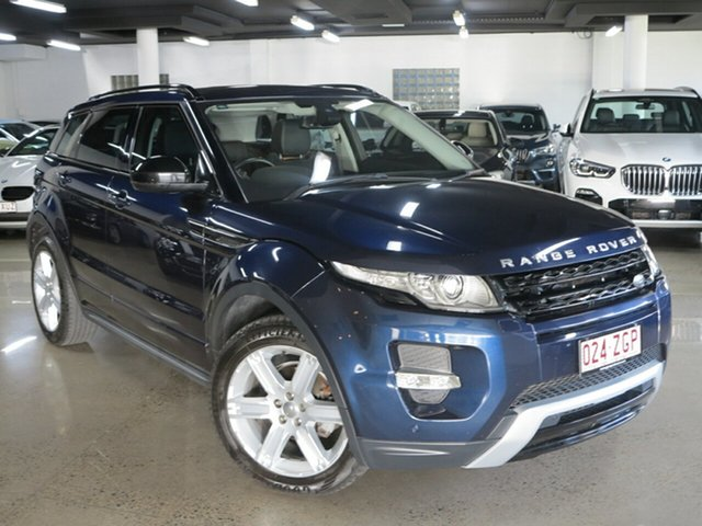 Used Land Rover Range Rover Evoque L538 MY14 SD4 Dynamic, 2014 Land Rover Range Rover Evoque L538 MY14 SD4 Dynamic Loire Blue 9 Speed Sports Automatic Wagon