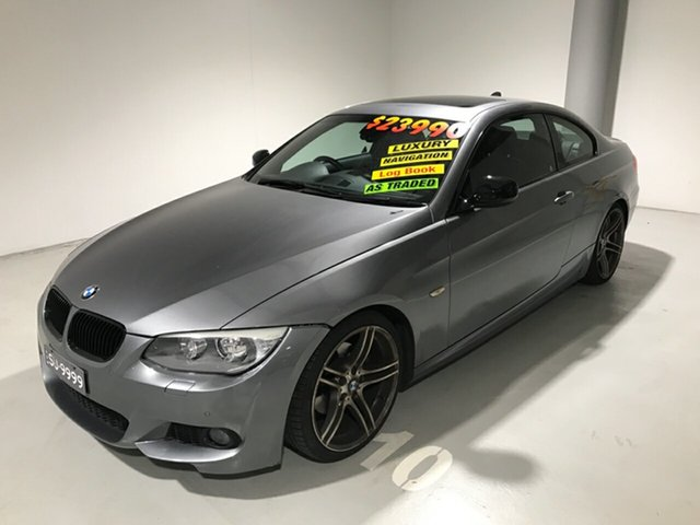 Used BMW 3 Series E92 MY0312 320d Steptronic, 2012 BMW 3 Series E92 MY0312 320d Steptronic Grey 6 Speed Sports Automatic Coupe